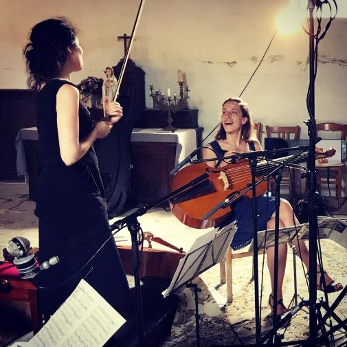 Recording Forqueray